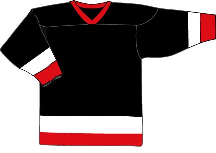 09 Black White Red
