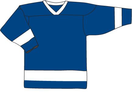 15 Royal Blue White Jersey