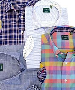 100% Cotton Non-Iron Short Sleeve