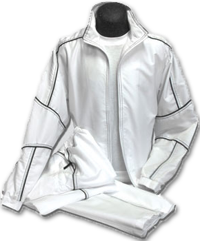 White Track Suit