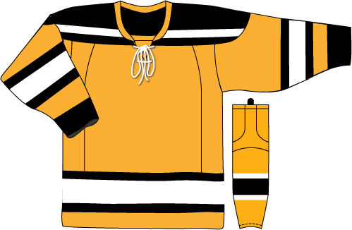 Boston Bruins Jersey Gold